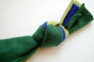 How to make a braided-rope dog toy