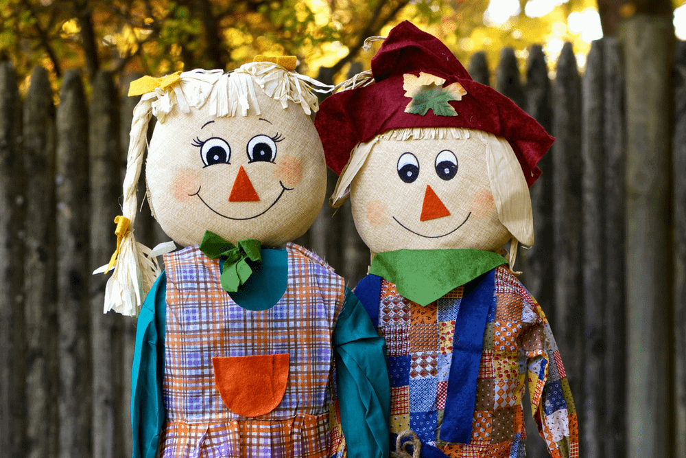 Make A Scarecrow From Items You Have At Home Living On The Cheap