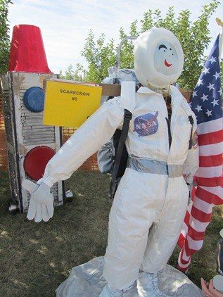 Neil Armstrong Scarecrow