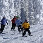 Where older kids ski free