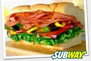 Subway 3 99 Sub Of The Day Special Living On The Cheap
