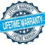 How a lifetime warranty gets you free products