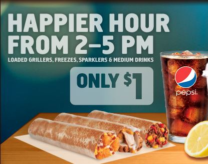 Taco Bell Happier Hour Food