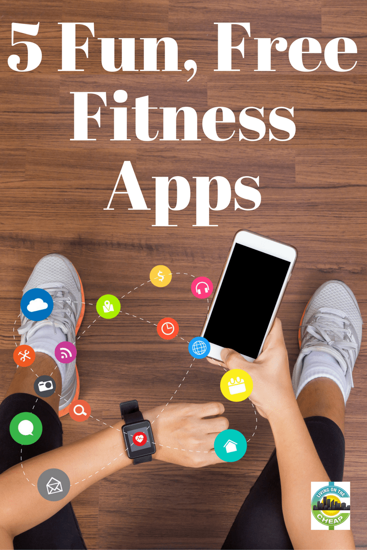 Yes, you can get fit on a budget. Try out these FREE fitness apps on your smartphone to shape up in no time. #fitness #fitnessapp #exercise #moneysavingtips