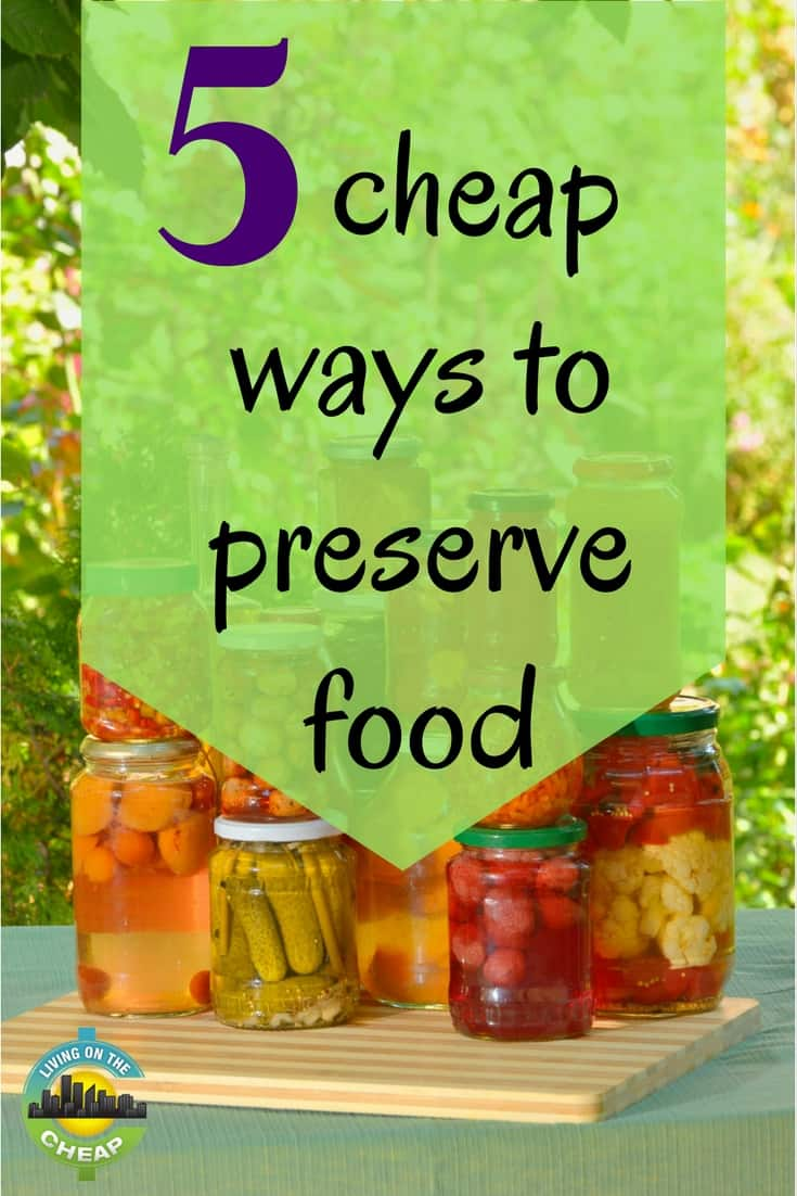 here are our ideas for food preservation methods that don't require expensive equipment. Use any of these tips to preserve budget-friendly seasonal foods by canning, pickling, fermenting, drying and cellaring. To preserve fruits and vegetables at their peak, it helps to understand the difference between maturity and ripeness. #foodsaving