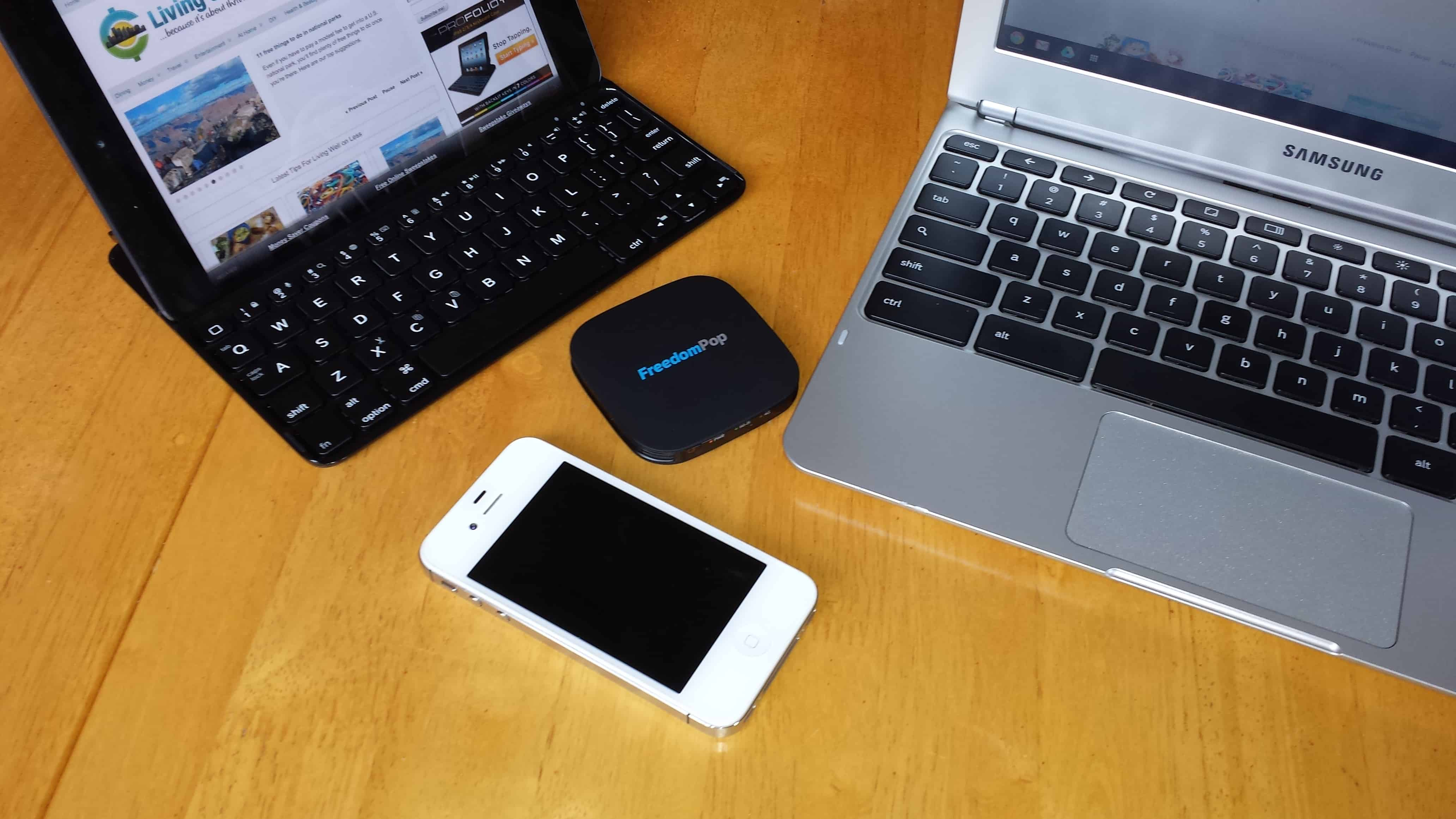 Is free Internet service from FreedomPop worth the price