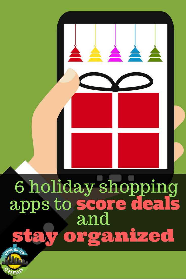Want to save money during the holidays? Check out these 6 holiday hopping apps that help you score deals and stay organized.