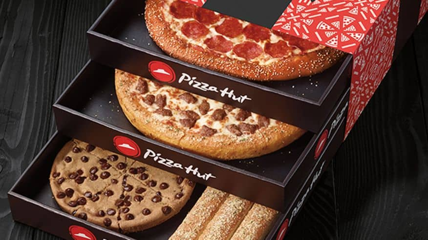 Pizza hut specials carry out menu