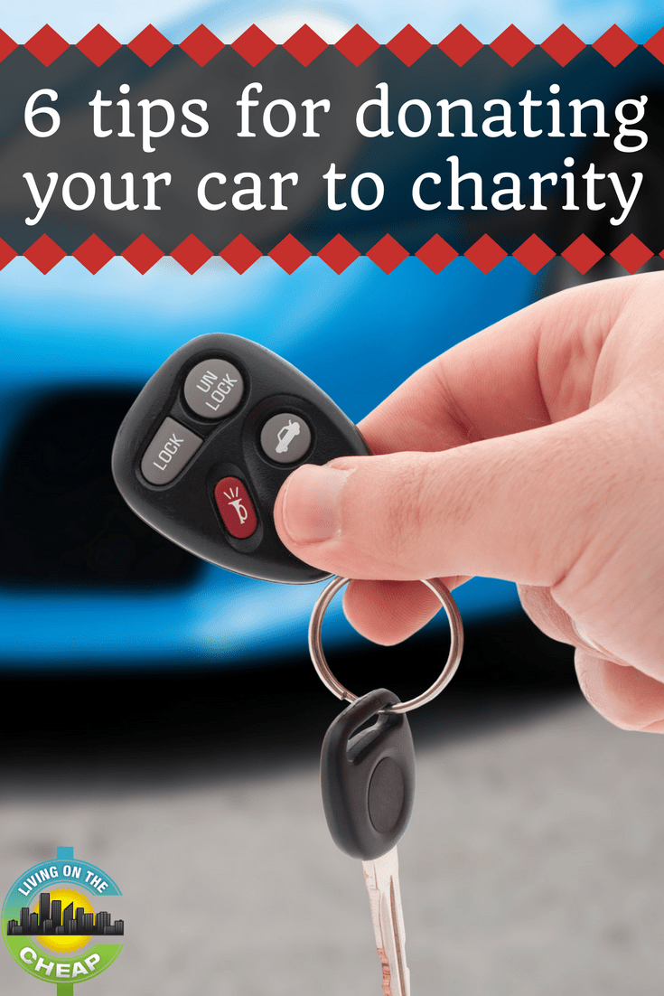 Donating a car to charity requires almost as much research as buying one. These tips will ensure there's a tax benefit for you and that you're donating to a legitimate group.