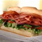 Get free sub at Subway