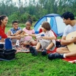 Frugal tips for first-time campers