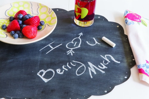 Chalk Cloth Placemat