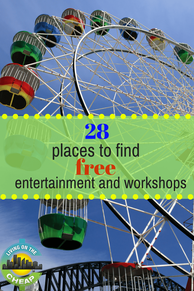 Want to shine a spotlight on good times? Family fun takes center stage with these no-cost options. Here are a variety of ways to watch movies and TV shows, take a class, earn gift cards or find movies, music and more, all for free!