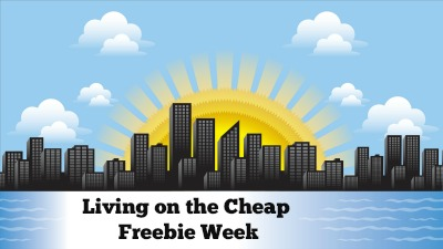 living on the cheap freebie week