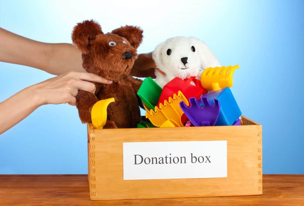 Toys For Donation : Got clutter donate and save on taxes living the cheap