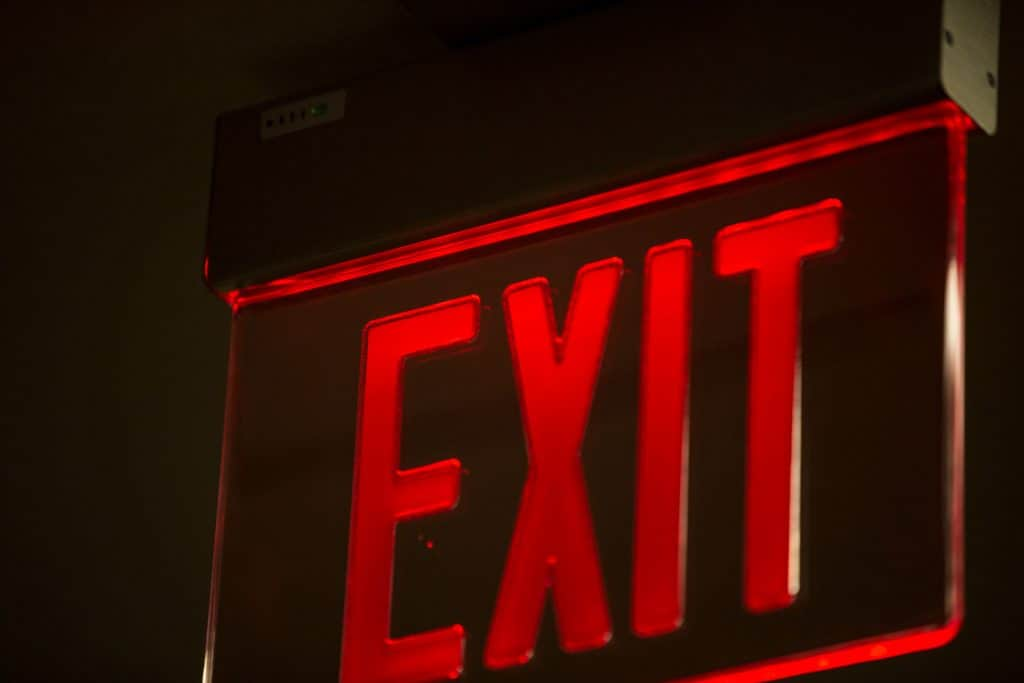exit-sign