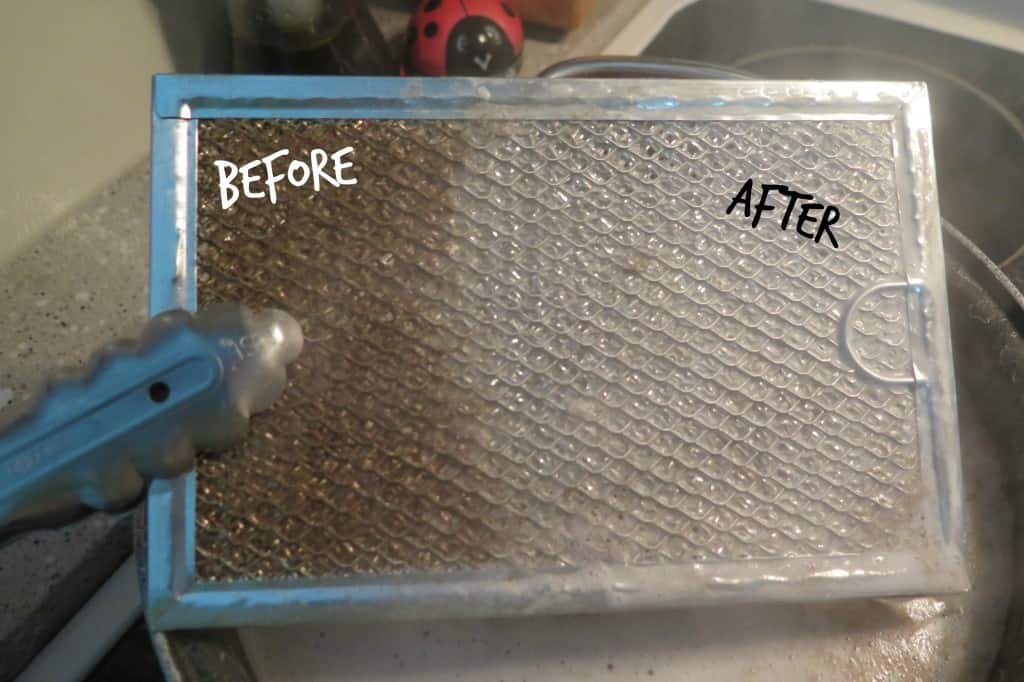 oven filter clean