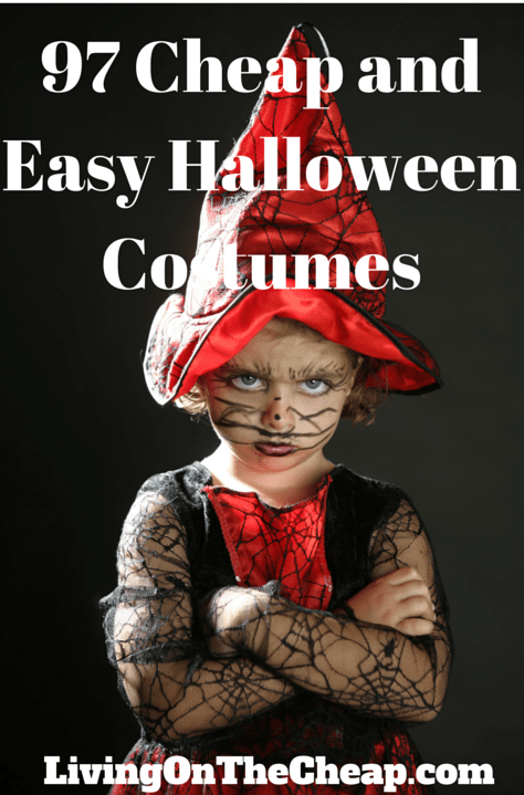 97 cheap and easy Halloween costumes - Living On The Cheap - photo #32