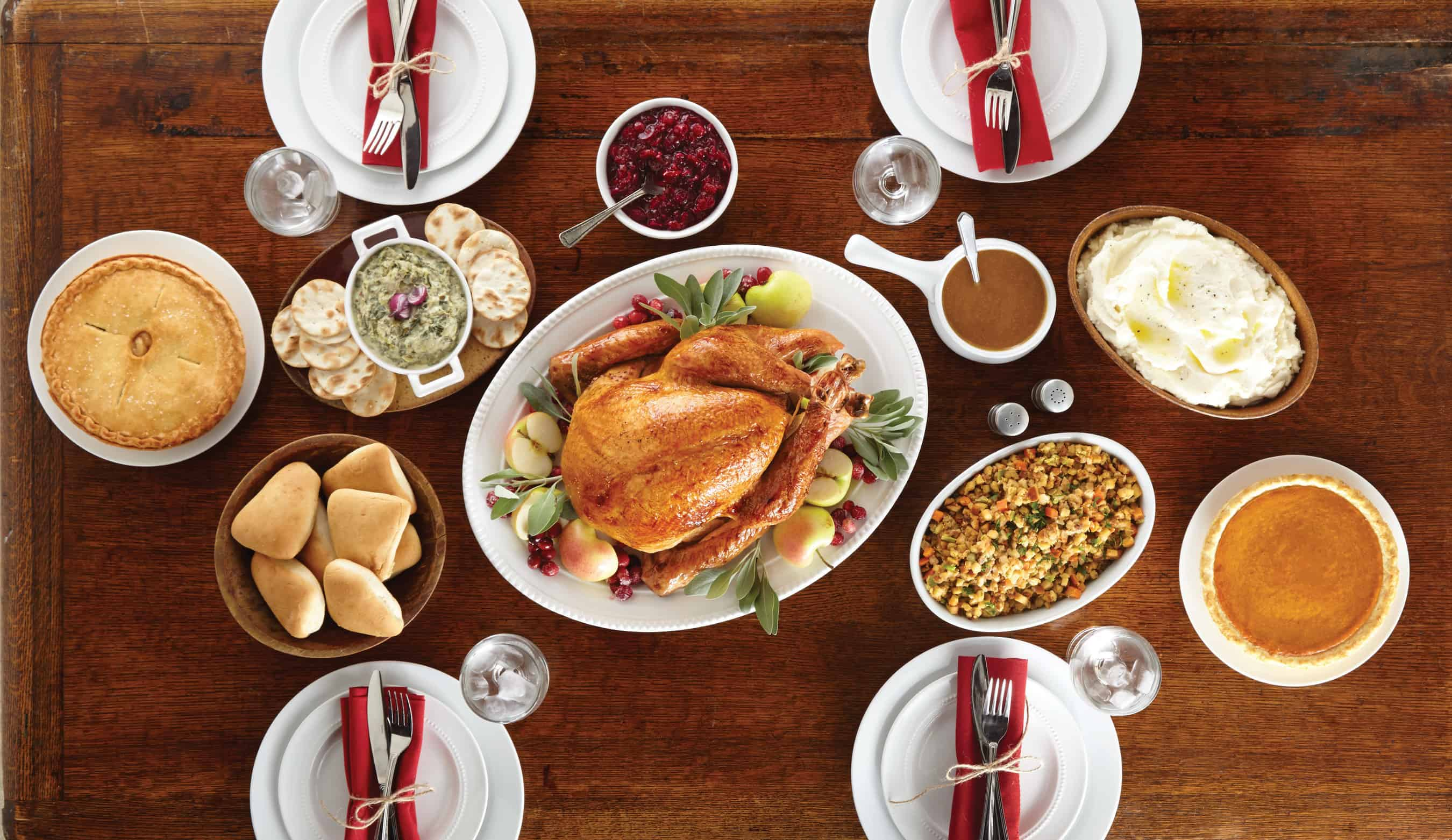 Where To Dine Out Or Take Out For Thanksgiving 2017