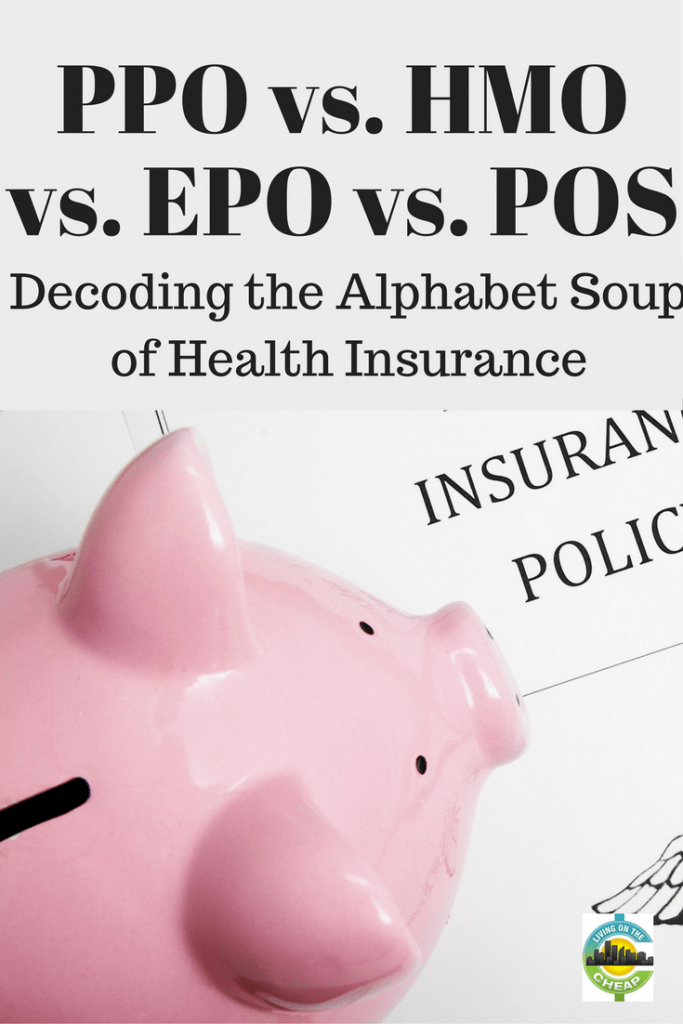 It's that time of year when we all seem to be mired in alphabet soup – and not the kind you eat. Open enrollment for benefits plans is here, and that includes choosing health insurance coverage.