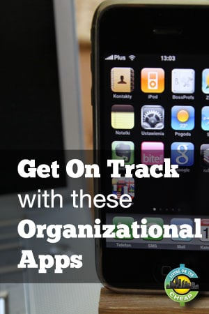Get help staying on track with your New Year's resolutions with these organizational apps. #resolutions #newyear #getorganized #organizationapps