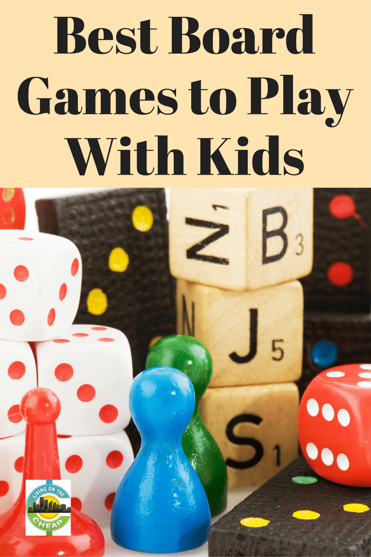If you're stuck inside by the weather, family game nights are a great way to spend time together without spending lots of money. Pull out your games for post-dinner entertainment or while the kids are home from school. Use our guide to find the best family games for any age or budget. #familytime #kidsactivities