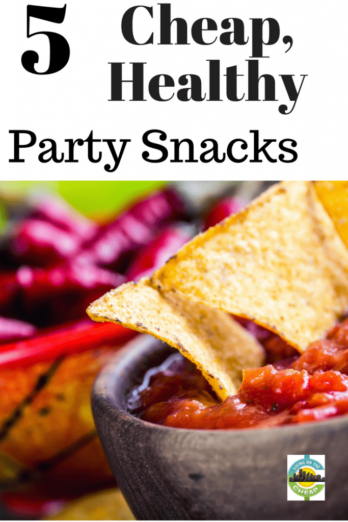 It's a struggle to find something unique to bring to parties. Sure, guacamole and chips are delicious, but it's a bit ridiculous when five people bring a batch. Mix it up with these affordable, healthy, vegetarian snacks.  Your friends will be impressed by how yummy they are, and you'll be thrilled by the low cost and ease of each recipe. Do you have other go-to party appetizers as an alternative to wings and chicken?