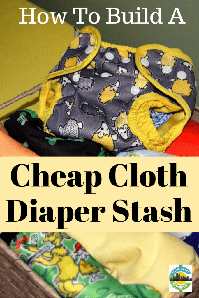 If you're interested in using cloth diapers, the choices and up-front cost can be daunting.  Prices vary greatly among styles and brands, but plenty of affordable ways can be found to purchase cloth diapers, especially if you plan ahead. Check out the post on how to build a cheap cloth diapgnger stash. #raisingkids #diapers #parents