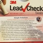 Free lead testing kits for home hazards