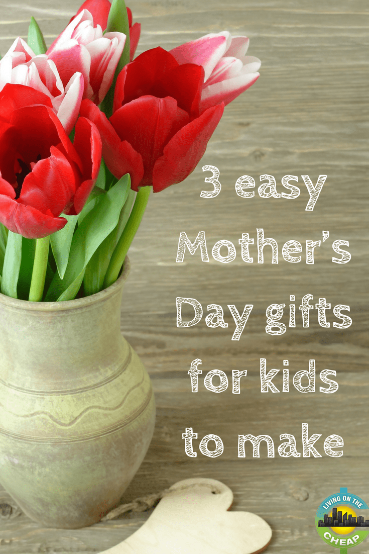 Flowers and jewelry are nice, but for most moms, nothing beats a gift made by her kids. Round up the kids and have them create one of these sweet, easy, cheap Mother's Day crafts for their mom or grandmother.