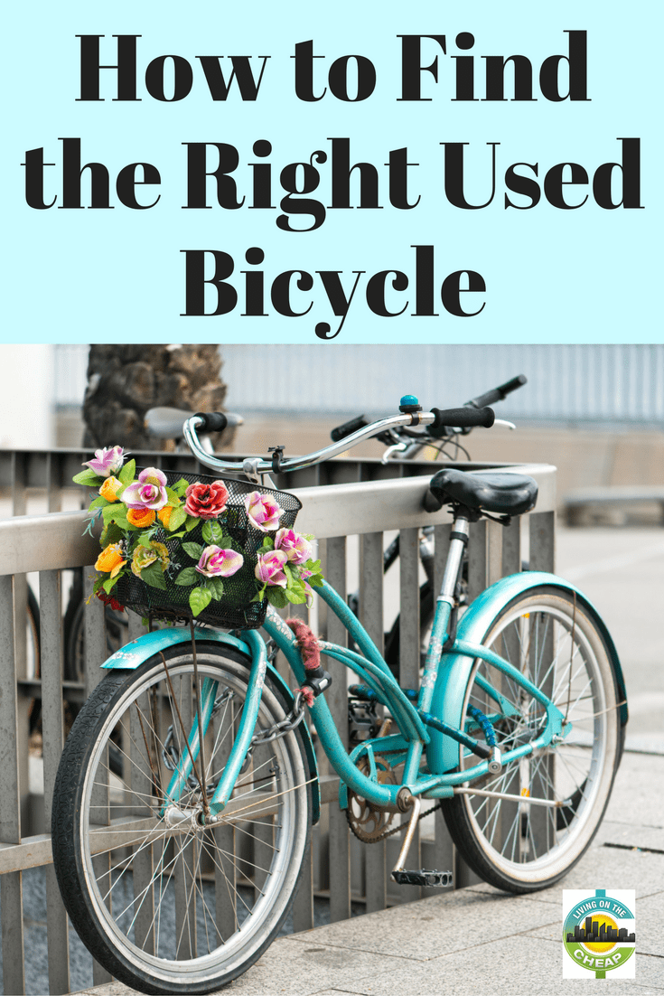 You may have decided bicycling is a great way to keep fit, but you don't want to buy new. You can find great deals on used bicycles at yard sales or thrift stores, newspaper or Craigslist ads. Here are a few things to consider before buying a used bicycle. #exercise