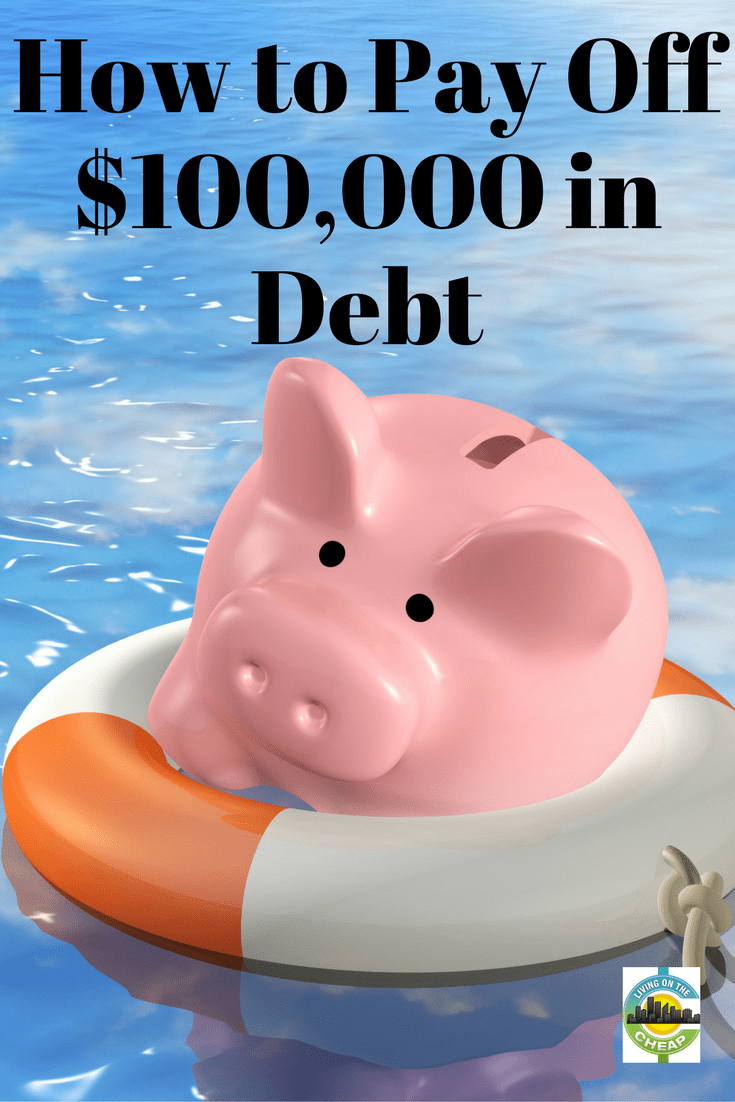 While it can be daunting, paying off $100,000 of debt is possible. Find out how this couple did it in this post! #payoffdebt #moneytips #creditcarddebt