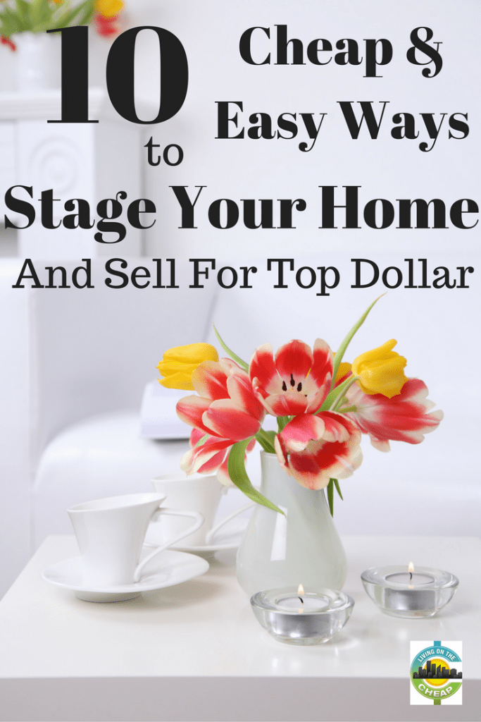 You've decided to sell your home, and you want to get top dollar for it. And you've seen TV shows where homeowners spend thousands of dollars staging their homes for sale, but there's an important detail to consider: You don't have thousands and thousands to spend.The good news is there are many things you can do to spruce up the look of your home without shelling out a lot of money. #sellyourhome #realestate #sellahouse #housestaging #stageahouse