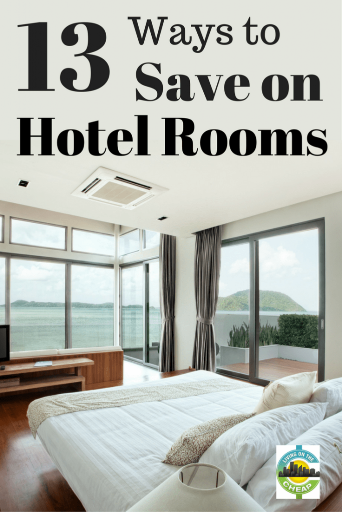 What everyone wants to hear is that there are one or two apps or websites that will always find you the best deal on hotel rooms.  Sorry. It's just not that easy. Here are 13 tips to help you save money on hotel rooms #moneysavingtips #savemoney #travel