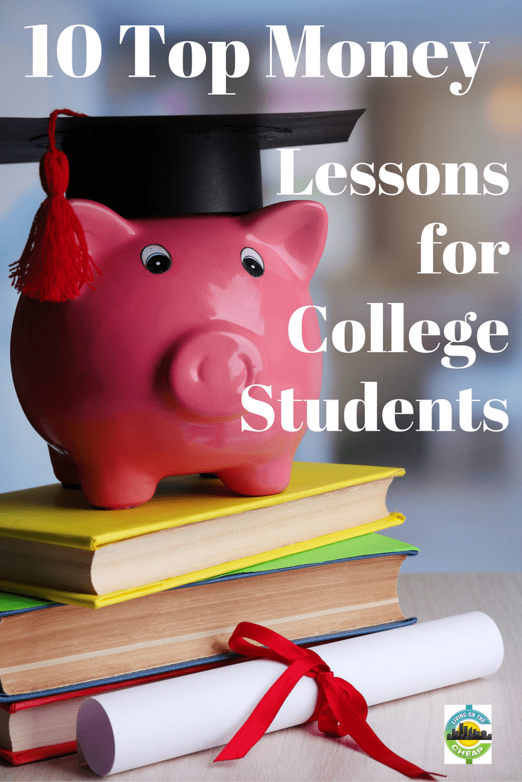 Heading off to college? Congratulations. If you're like many young adults, college is the first time you'll keep your own schedule, plan your own meals, manage your health and pay your own way. But just in case, here are 10 tips to help you along the way. #money #moneytips #college