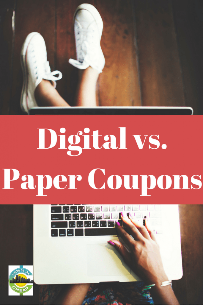 Which is better: digital or paper coupons? With everyone (or so it seems) owning a smartphone, digital coupons have become increasingly popular. It makes sense. With the flick of a finger, you can search for and add manufacturer's coupons to your shoppers card -- anytime, anywhere. While they offer convenience and are environmentally-friendly, digital coupons are typically