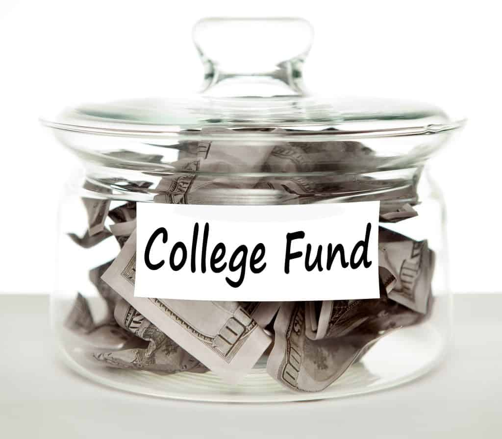 college fund money jar