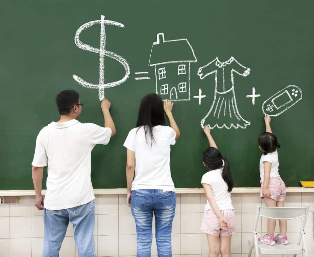 family kids budget