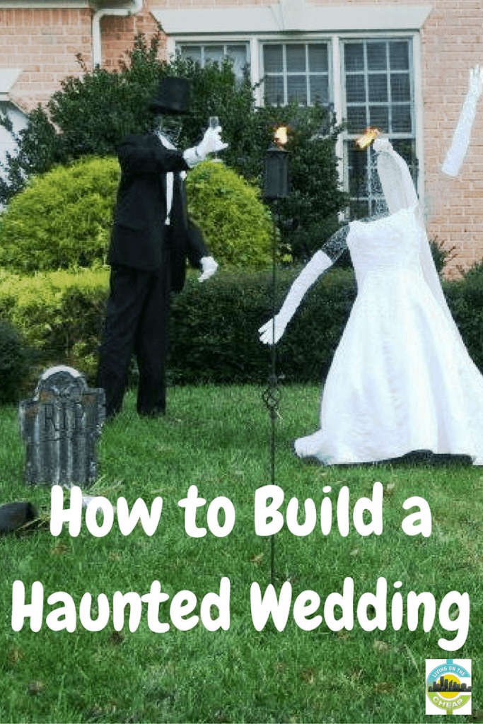 As Halloween approaches, witches, ghosts and zombies are starting to appear in front yards. For an entirely different approach to decorations, one that is elegant but eerie, consider the Haunted Wedding.