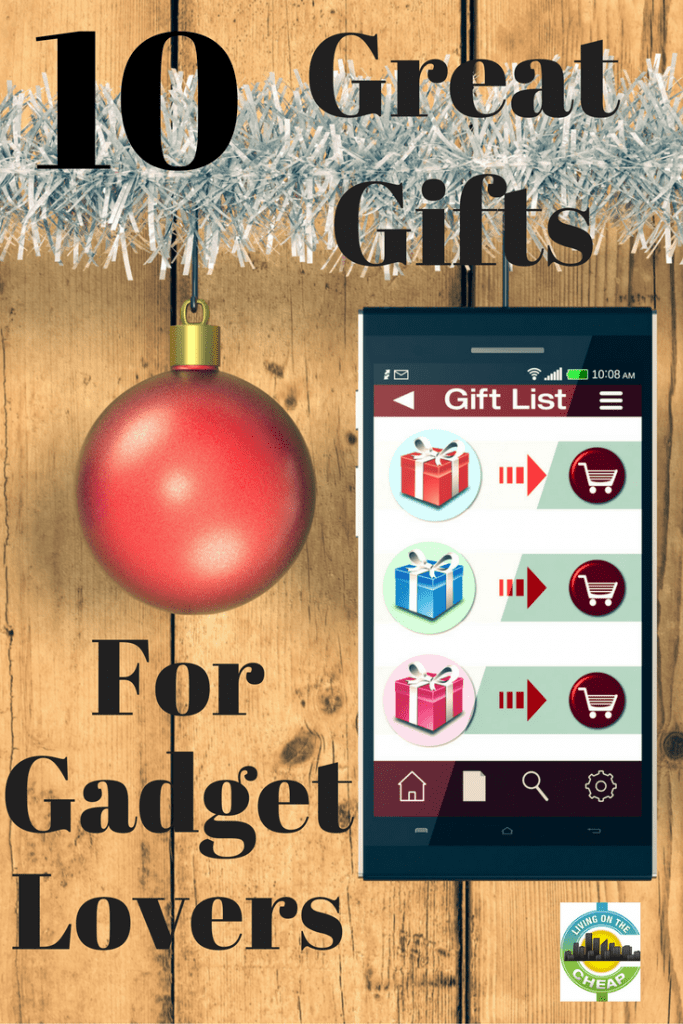 This list of gifts would make perfect stocking stuffers or gifts for guys and girls who love gadgets. The best part is that they are all affordable, at less than $35, and have free shipping with purchases over $25 from Amazon