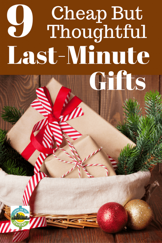 Budget-friendly last-minute gifts can shine – if they're chosen thoughtfully and presented beautifully.