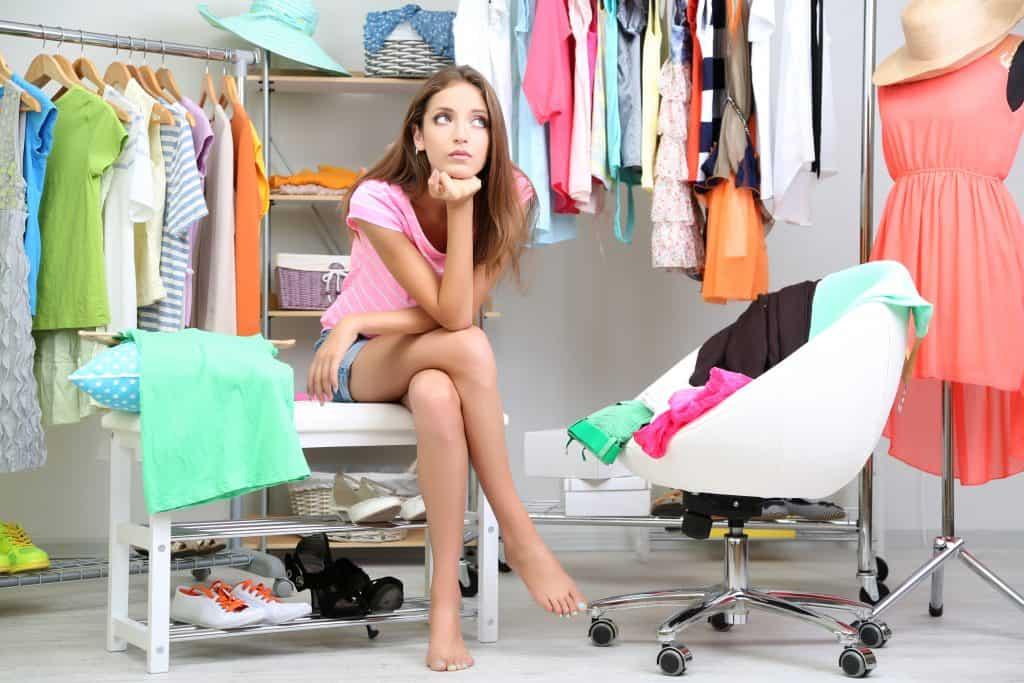 closet clothes fashion