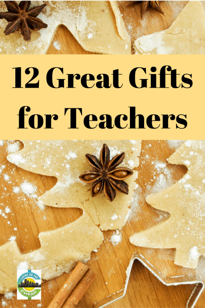 Do you have a child in school? Whether you have a preschooler, elementary school student, middle schooler, or high school student, you likely are thinking about getting gifts for your child's teachers. Lucky for you I have advice on teacher gift ideas that are appropriate, based on your child's age, and a teacher's likely likes and dislikes, and that take your budget into consideration. #giftguide #teachergifts #giftsforteachers