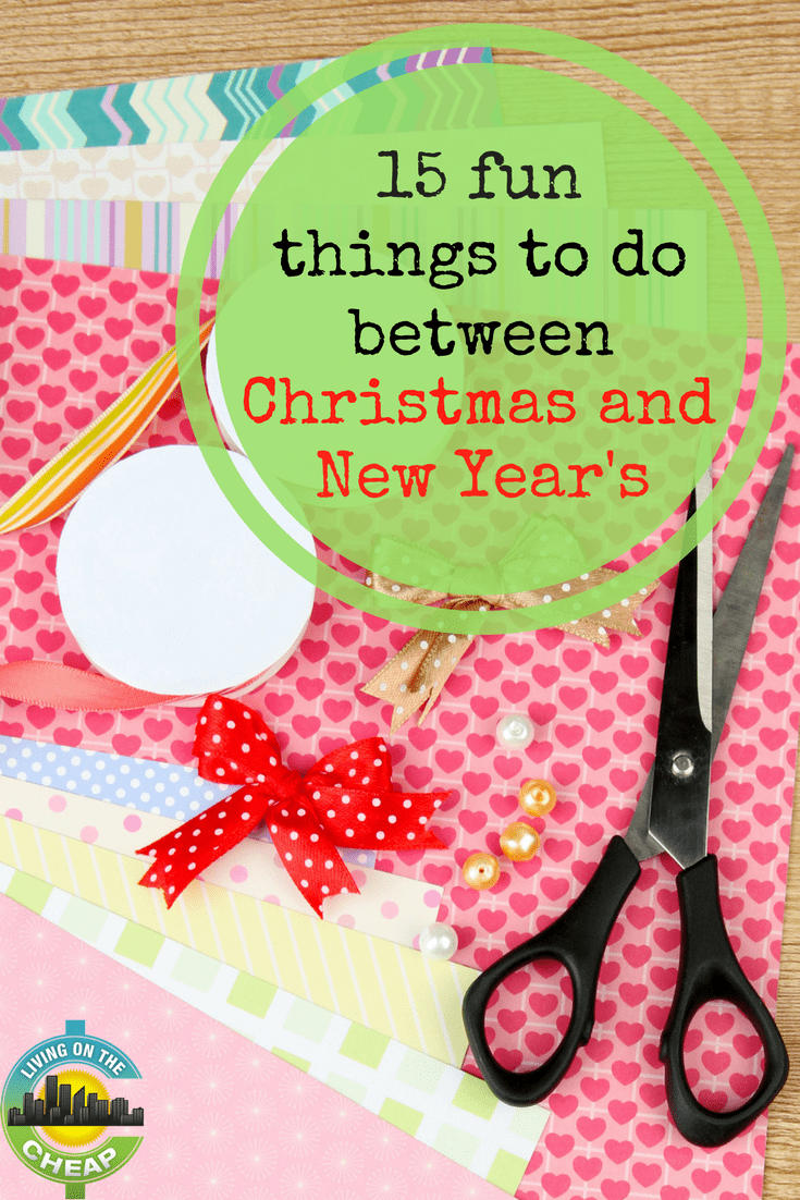 The period between Christmas and the return to school after New Year's can be a great time for family outings and family bonding. Check out this post for 15 fun things to do between Christmas and New Years. #familyfun #holidayfun #winterbreak