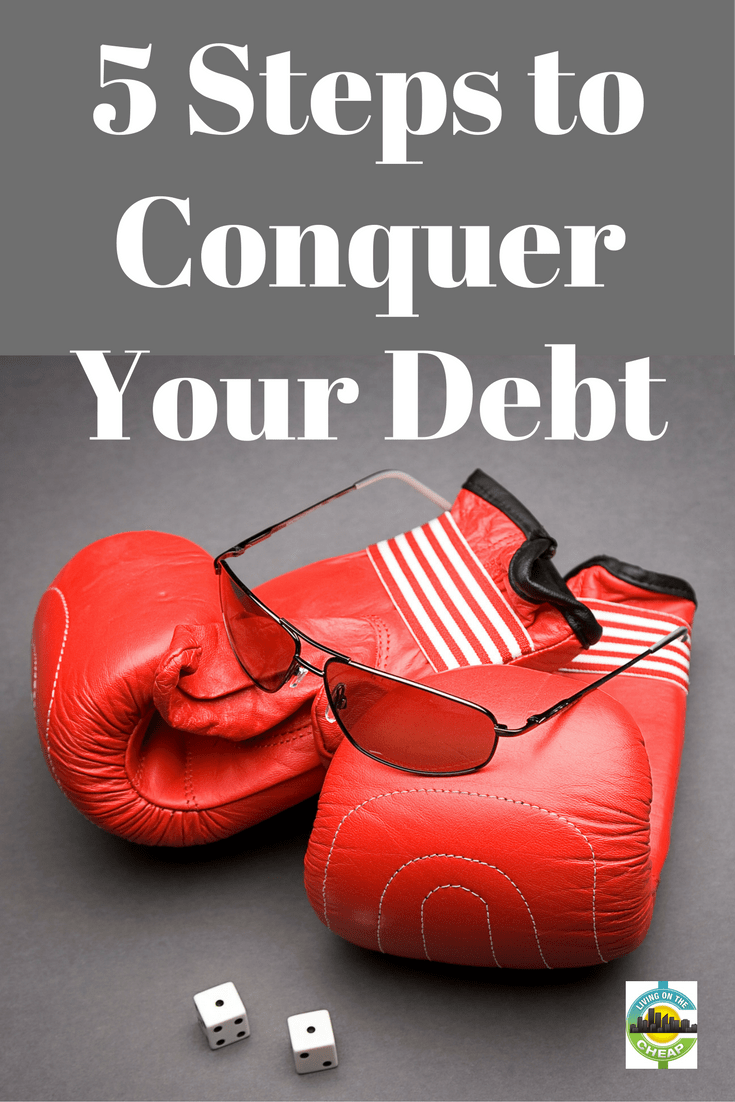 Debt sucks.It sucks up your paycheck. It sucks up your energy. Most important, it sucks up your options. It might feel overwhelming, but you can do this. By organizing big goals into small, achievable tasks, those huge hills don't seem so hard to climb. Here's how to start confronting your debt right away. #payoffdebt #debtfree #moneytips #personalfinance #debt