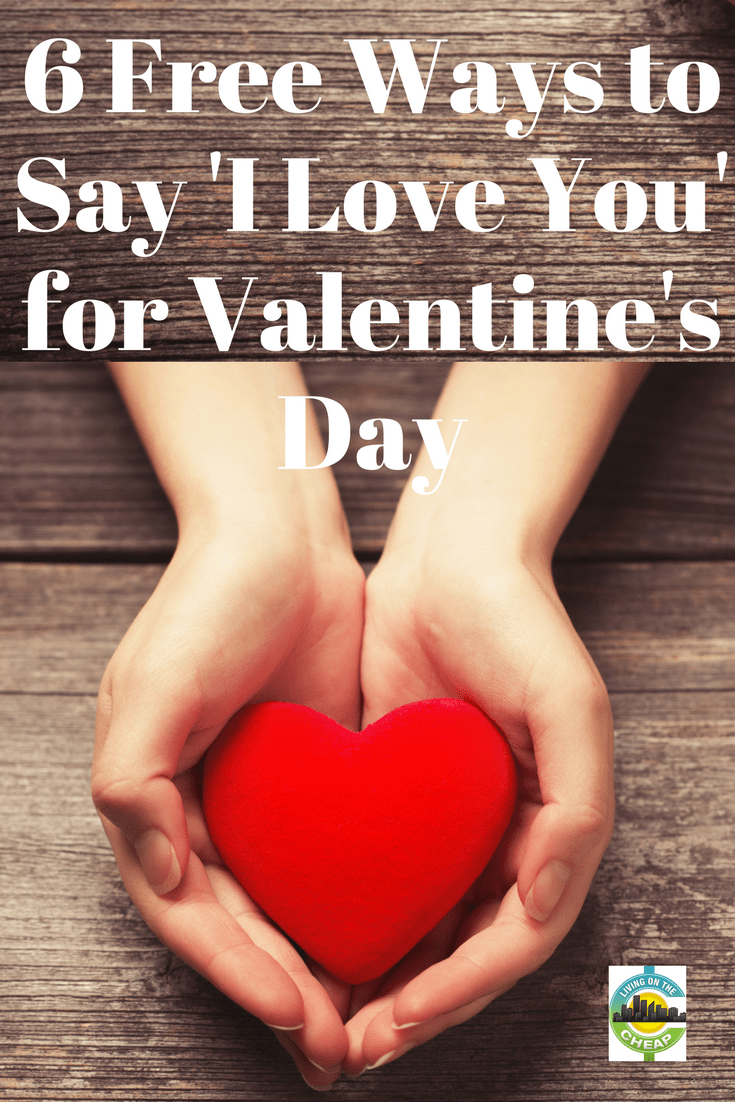 Valentine's Day is a day for lovers, but some might feel Cupid's arrow hitting you in the wallet instead of the heart. Just remember that it is not about money; you can stay on budget while showing your true love how much you care.