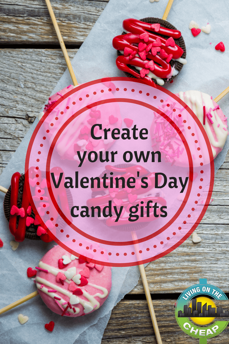 Get creative this Valentine's day by creating your own Valentine's Day candy gifts.
