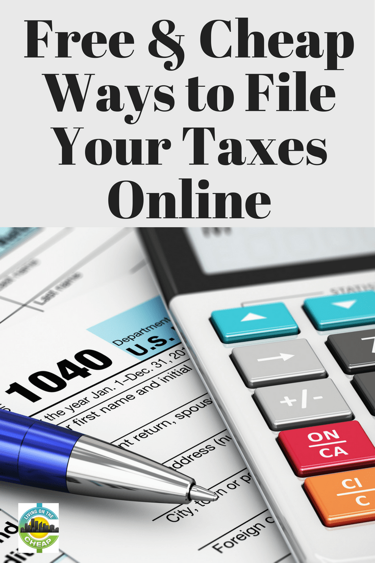 If you've never taken advantage of the many free tax-filing options out there, you could be missing out. There are several free – or low cost – options available that will not only save you a few bucks, but will help simplify the process as well. Here is a look at some tax filing services that won't break the bank. #taxtips #savemoney #moneysavingtips
