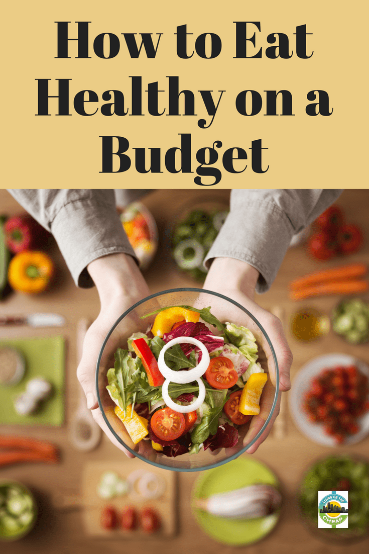 It's a common misconception that eating healthy is expensive. That's not true. Sure, you can spend a lot on healthy food, but it's not necessary. Here are seven products that can be part of a well-balanced diet and not cost a fortune, plus one bonus piece of advice on how to save money on groceries. #saveonfood #moneysavingtips #healthyeating #budget #eathealthy