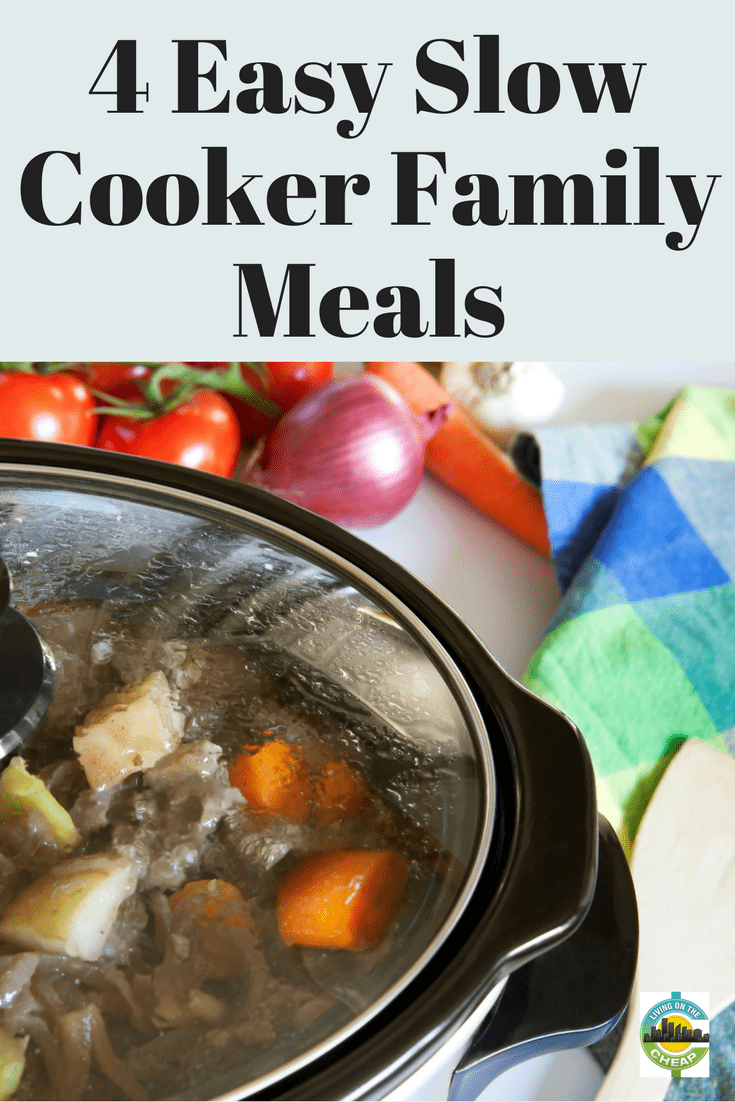 There's nothing like getting to the end of an exhausting day and wondering what you're going to do for dinner. Add hunger and evening activities to that scenario and you usually end up in a drive-through. Enter every busy parent's best kitchen friend, the slow cooker. #crockpot #slowcooker #easymeals #quickandeasymeals #familymeals #dinnerideas